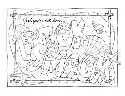 Swear Word Adult Coloring Pages Free Printable Coloring Pages Color Page