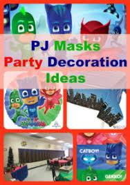 10 super pj masks birthday party decorations ideas birthday