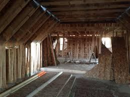 Bedroom With Knee Wall Victoria Falls Build Blog Week 4 Part 2 Keep On U0027 Framing