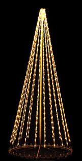 Outdoor Lighted Trees 3 D Tree Lighted Outdoor Decorations Yard