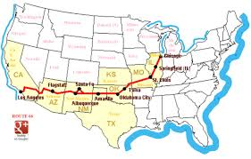 United States Highway Map by Map Of Usa Routes Leoctk