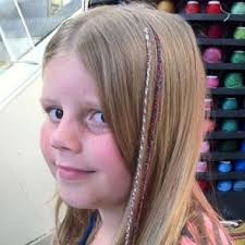 hair wraps 3 coloured plait surfers paradise hairwraps braiding
