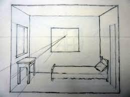 dessin chambre en perspective dessiner une ma chambre alain briant galerie