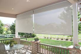 Coolaroo Patio Umbrella by Coolaroo Exterior Roller Shades Catarsisdequiron