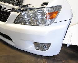 lexus altezza car lexus altezza nose cut front end conversion