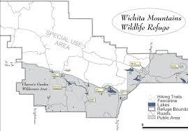 Okc Map Wichita Mountains Nwr Oklahoma City Audubon Society