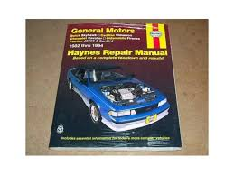 1982 1994 cavalier skyhawk haynes repair service manual cea services