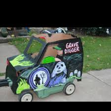 halloween costume grave digger monster truck my craft stuff