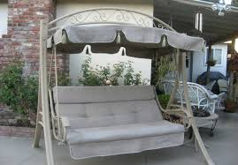 Small Canopy by Bench Beautiful Patio Swing With Canopy Also Small Home Decor