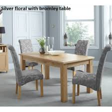 kingston dining room table kingston floral dining chair in six colours norman s furniture