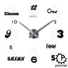 compare prices on wall clock in kitchen online shopping buy low english letters arabic digital kitchen wall clock acrylic eva metal mirror home decor wall