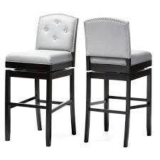 white leather swivel bar stools tufted bar stools stool cushion for living white leather