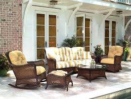 outdoor loveseat glider cushions outdoor sea pines wicker