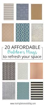 Affordable Outdoor Rugs 20 Affordable Outdoor Rugs So Pretty You Ll Want Them Indoors