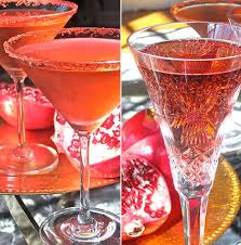 Non Alcoholic Thanksgiving Drinks Easy Thanksgiving Cocktail Recipe Pomegranate And Prosecco