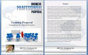 engineering proposal template training proposal templates