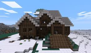 Cabin Style Log Cabin Style House Minecraft Project