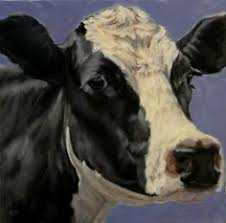 cow by bonnie mohr watercolor i that cow i