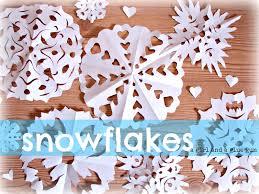 kid craft monday snowflakes a and a glue gun