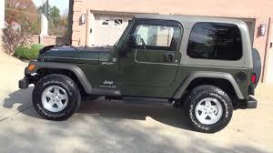 dark green jeep hd video 2006 jeep wrangler sport 4x4 foe sale see www sunsetmilan