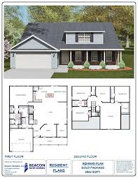 Builder Floor Plans by Magnum Homes In Rincon Ga