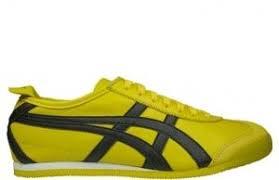 asics onitsuka tiger mexico 66 yellowblack trainers 26597191