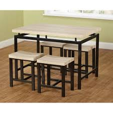 What Is A Breakfast Nook by 5 Piece Delano Dining Set Natural Walmart Com