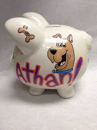 monogrammed piggy bank 103 best personalized piggy banks images on