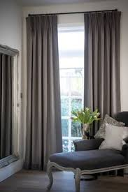 Pretty Patterned Interiors Gray Window And Living Rooms - Living room curtains design