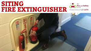 guide to siting and installing fire extinguishers youtube