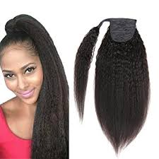 ponytail hair extensions yaki ponytail hair extensions human