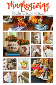 my educated thanksgiving table decor ideas and a contest