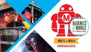 Barnes And Noble Book Finder Announcing Barnes U0026 Noble U0027s 2nd Annual Mini Maker Faire November