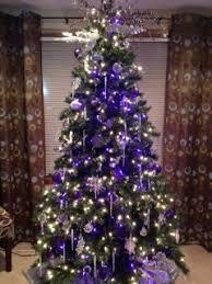 purple trees happy holidays