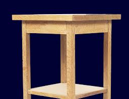 Table Exquisite Bedside Table Woodworking Plans Gallery 1