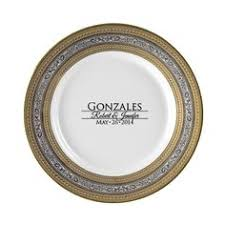 personalized dinner plate luxor personalized 10 75 porcelain dinner plate 55