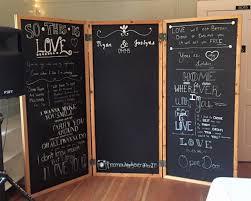 wedding backdrop chalkboard chalkboard backdrop the cedar workshop