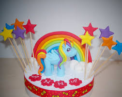 my pony cake ideas my pony cake topper etsy hk