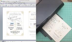 free printable diy wedding invitations diy vintage wedding