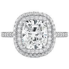 cushion diamond ring forevermark diamond ring 2 03 carat cushion diamond with