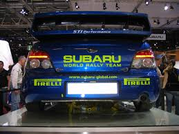 subaru sti rally car file subaru wrx sti rally car at the 2006 paris auto show 2 jpg