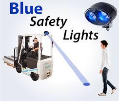 blue warning lights on forklifts blue spot light forklift safety big joe lift