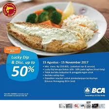 bca aeon discount 50 at the manhattan fish market aeon mall bsd city