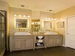 Bright Bathroom Lights Bathroom Classic Vanity And White Sinks Bright Bathroom