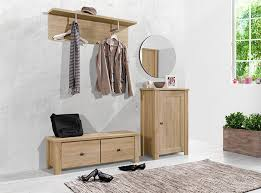 contemporary arte m light oak hallway shoe cabinet shoe bench and