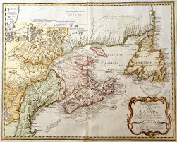 Eastern Canada Map by Ch 1 Eastern Canada James Cook 250