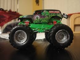 rc monster truck grave digger custom 1 64 monster jam trucks and arena archive monster