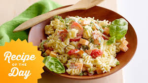 recipe of the day ree u0027s picnic pasta salad food network youtube