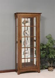 are curio cabinets out of style hardwood mission curio cabinet from dutchcrafters amish furniture