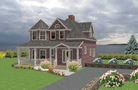 new england style home plans design beach cottage house